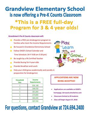 Pre K Counts Flyer