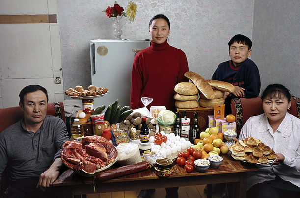 Mongolia- The Batsuuri family of Ulaanbaatar