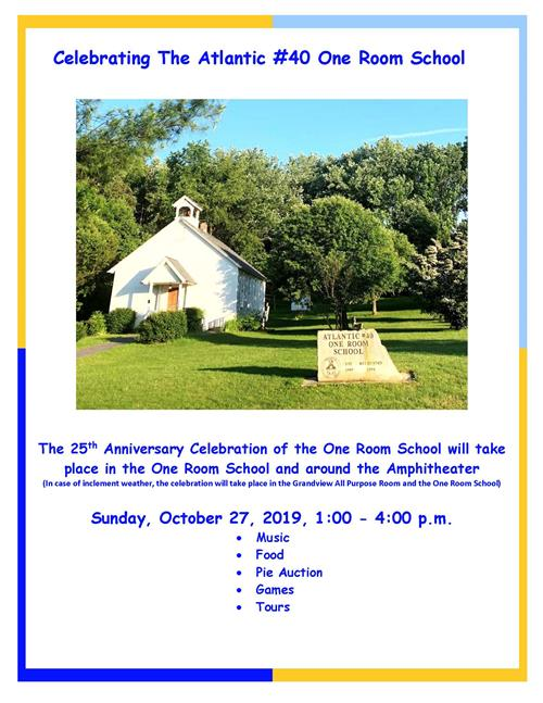 25th Anniversary Flyer