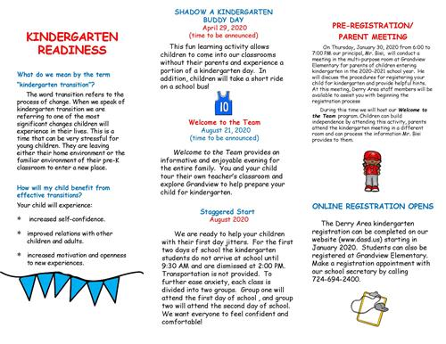 K readiness events page 2